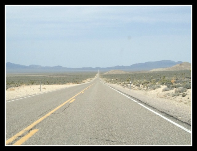 4. 4.When driving along the flat, empty desert, driving 100+ MPH  really fast doesn't feel as awesome as it does when driving 100+ MPH really fast while passing cars and flying by road signs, or so I imagine. It mostly feels the same as driving 50MPH, I assume.