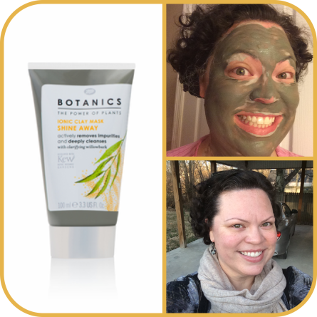Boots Botanics Shine Away Ionic Clay Mask